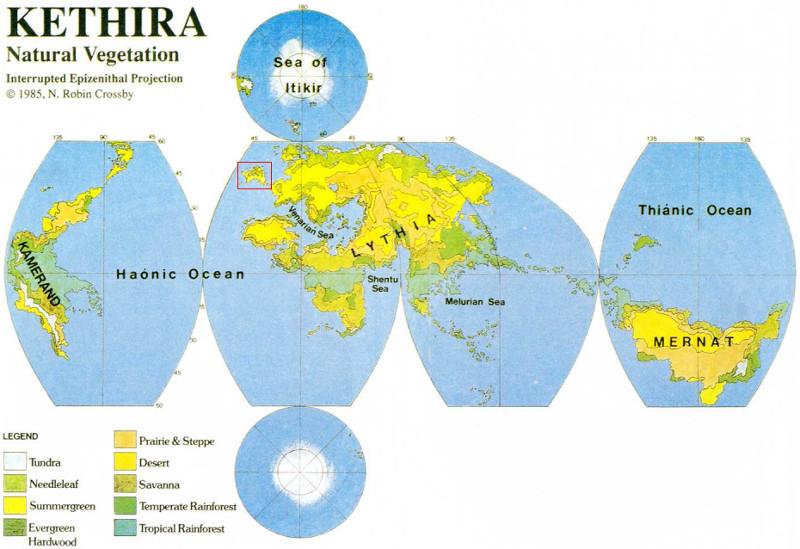 Kethira, el mundo de Hârn