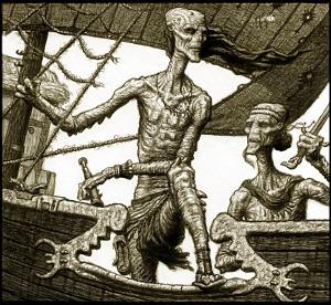Los temibles piratas ramian