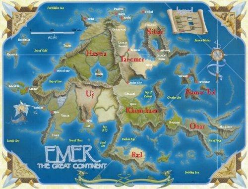 Mapa de Emer