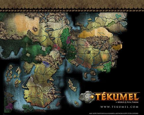Mapa de Tékumel